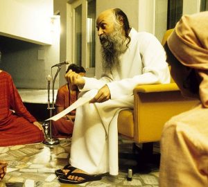 Osho at an Energy Darshan
