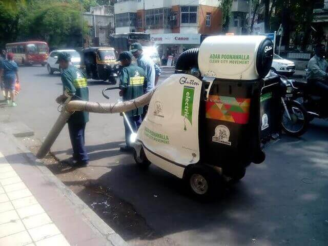 It's a Street-Clean Machine!